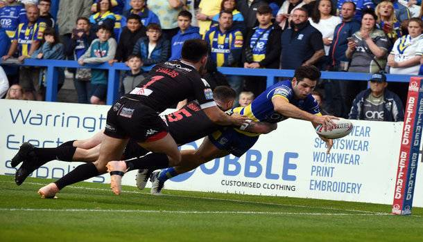 Warrington Wolves vs Hull FC - Rugby League Challenge Cup