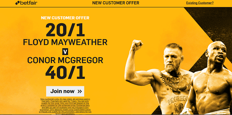 Mayweather Vs. Mcgregor Betting w/ Betfair