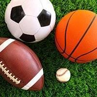 image of several sports balls