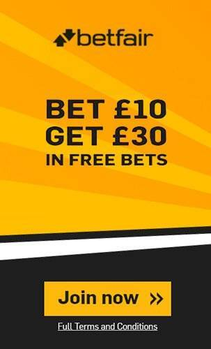 Betfair Free Bet Offer