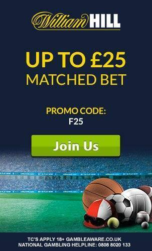 William Hill Logo with Promo
