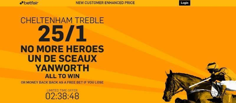 Bet with Betfair 25/1 for Ladies Day