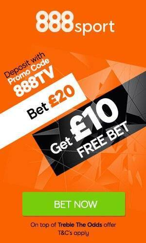 888 TV Free Bet Offer