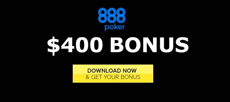 Claim up to $400 888poker bonus