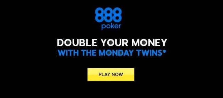 Claim up to $10,000 in 888poker tournaments