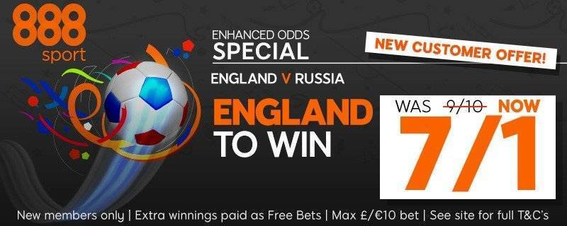 888Sport Free Bet Enhanced