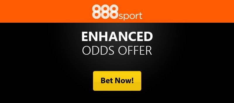 888Sport Enhanced Odds Free Bets