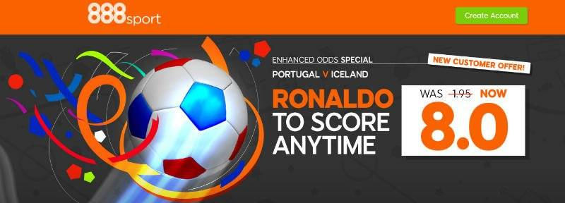 888 Euro 2016 Enhanced Offer