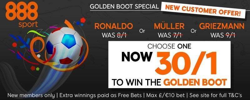 Enhance your Odds with 888Sport