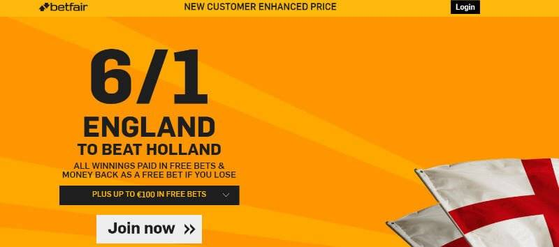 Enhanced Offer with Betfair