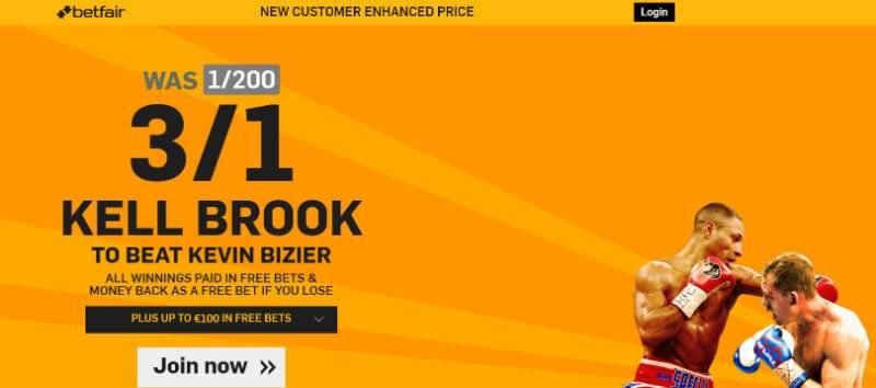 Boxing Enhanced Odds Betfair