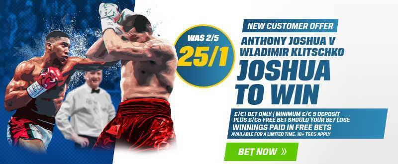 25/1 Joshua to Win @Coral