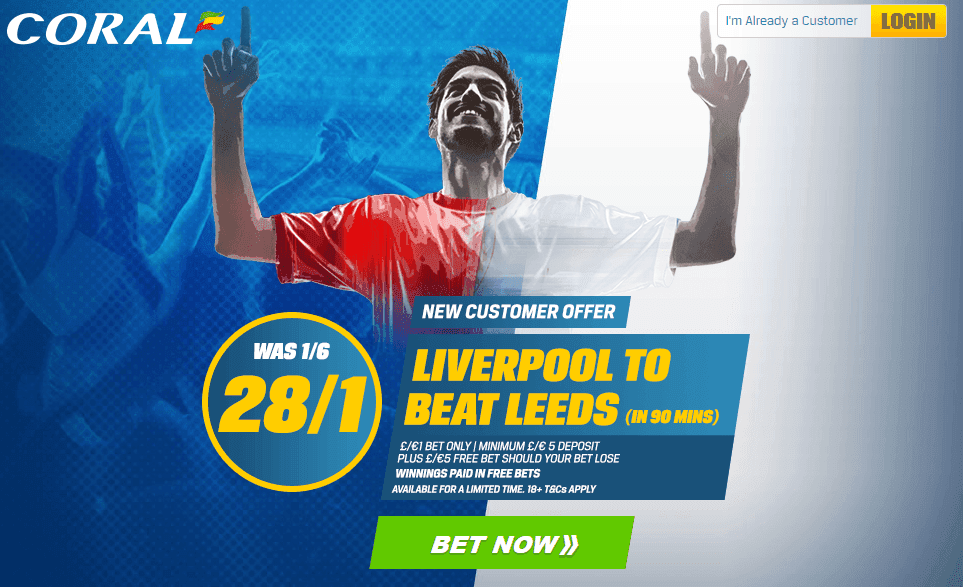 Coral Offer Liverpool