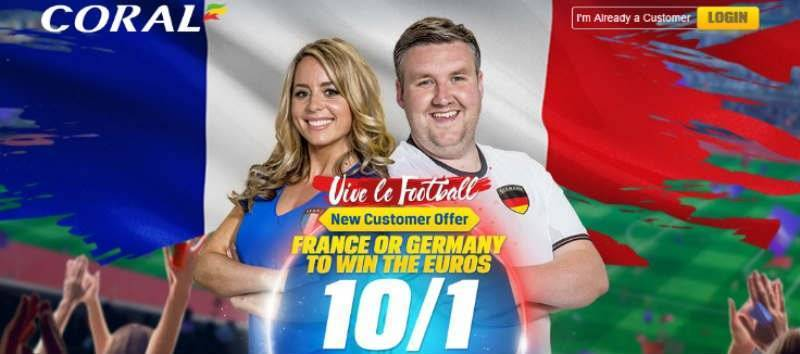 Coral Enhanced Free Bet Offer