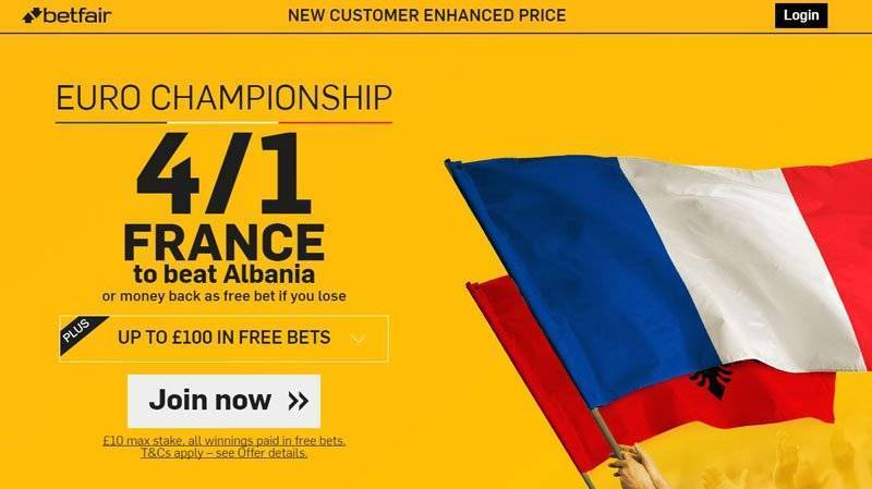 France-Offer-Betfair-Sports