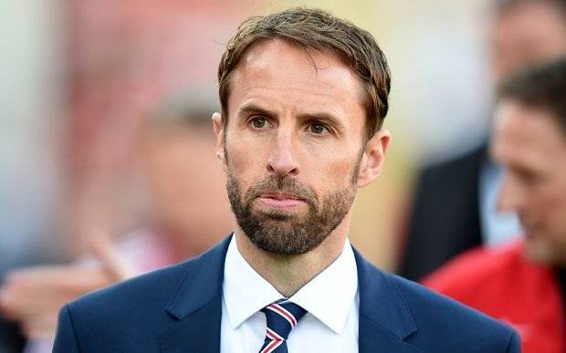 England under 21 manager Gareth Southgate during the Under 21 International Friendly at Oakwell, Barnsley. PRESS ASSOCIATION Photo. Picture date: Thursday June 11, 2015. See PA story SOCCER England U21. Photo credit should read: Martin Rickett/PA Wire. RESTRICTIONS: Use subject to FA restrictions. Editorial use only. Commercial use only with prior written consent of the FA. No editing except cropping. Call +44 (0)1158 447447 or see www.paphotos.com/info/ for full restrictions and further information.
