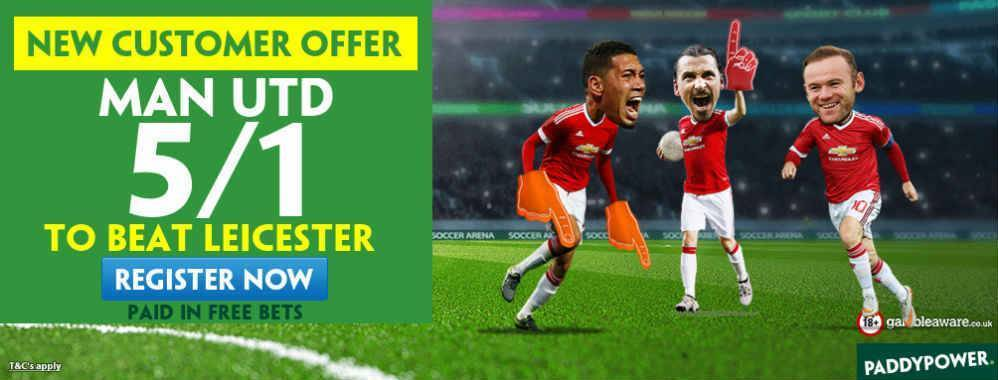 Man Utd to Win 5/1
