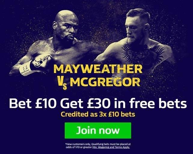 Mayweather Vs. Mcgregor Betting Betting Offer William Hill