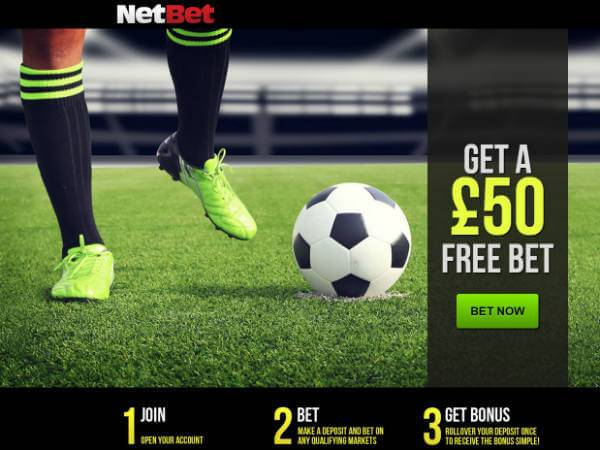 NetBet Free Bet Offer