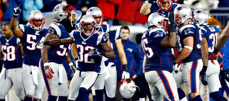 Bet on Patriots for NFL