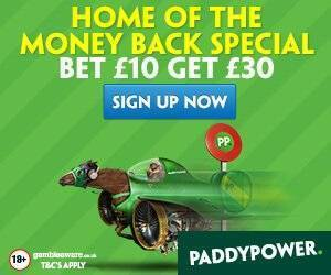 Paddy Power Offer for Grand National
