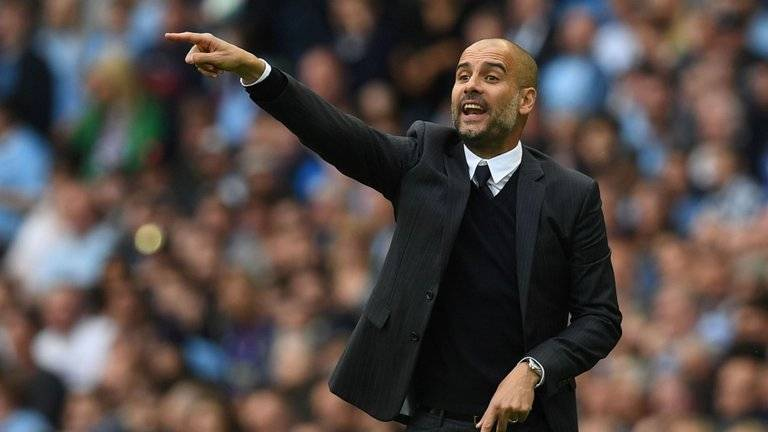 Pep Guardiola Man City Boss
