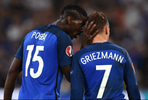 Pogba Griezmann Article