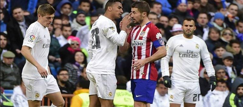 La Liga Battle between Real Madrid and Atletico Madrid