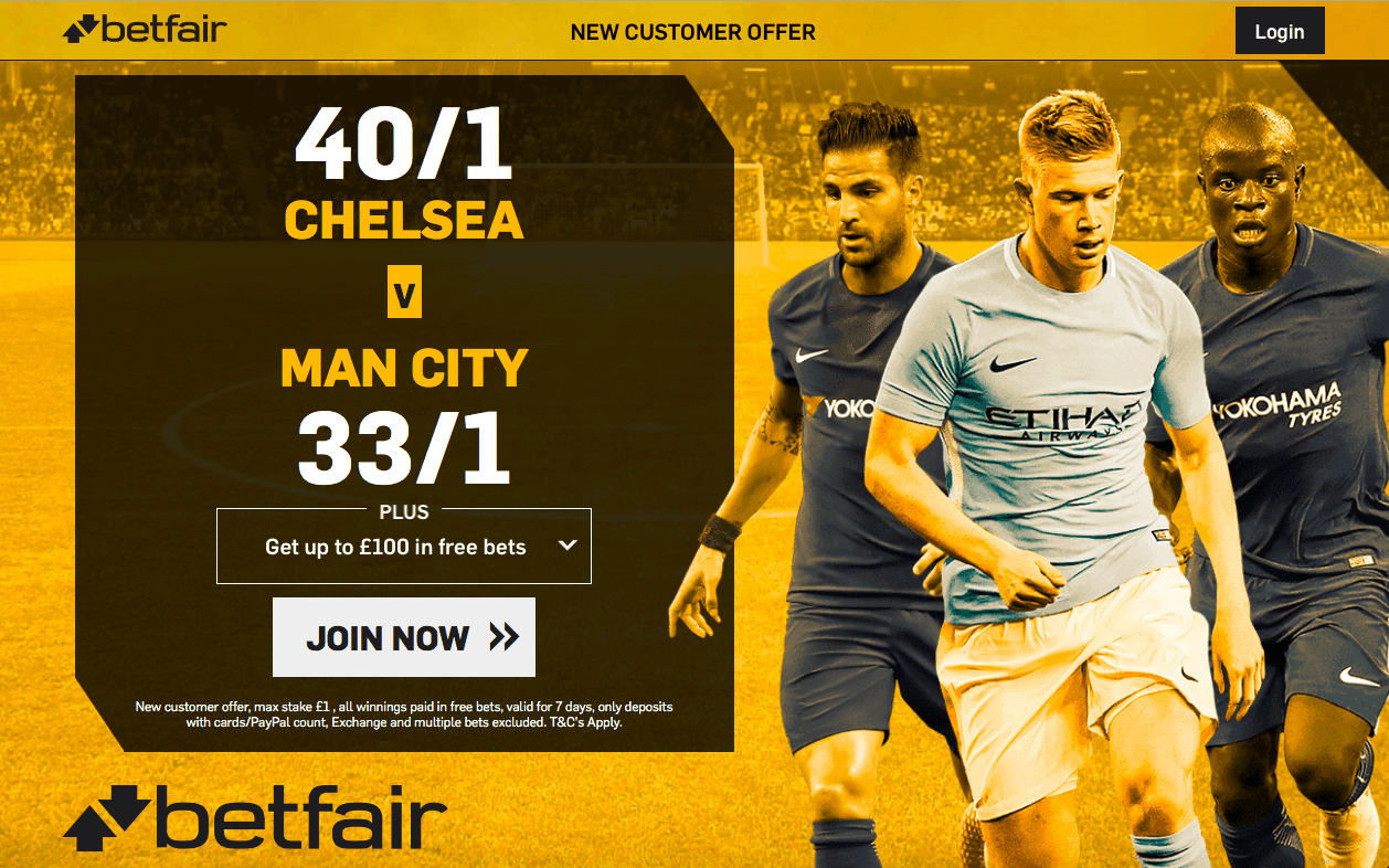 Manchester city vs chelsea betting preview on betfair top 10 betting companies ukraine