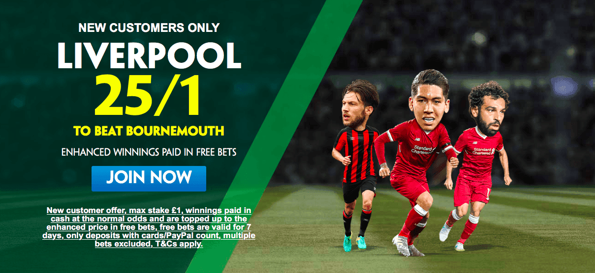 Bournemouth 1 – 2 Liverpool | Casino.com