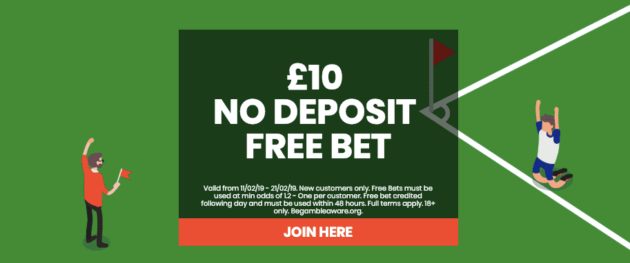 Free betting promotions no deposit best betting strategy sports