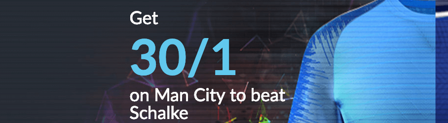 Get 30/1 on Man City to beat Schalke with BetVictor - Freebets.co.uk
