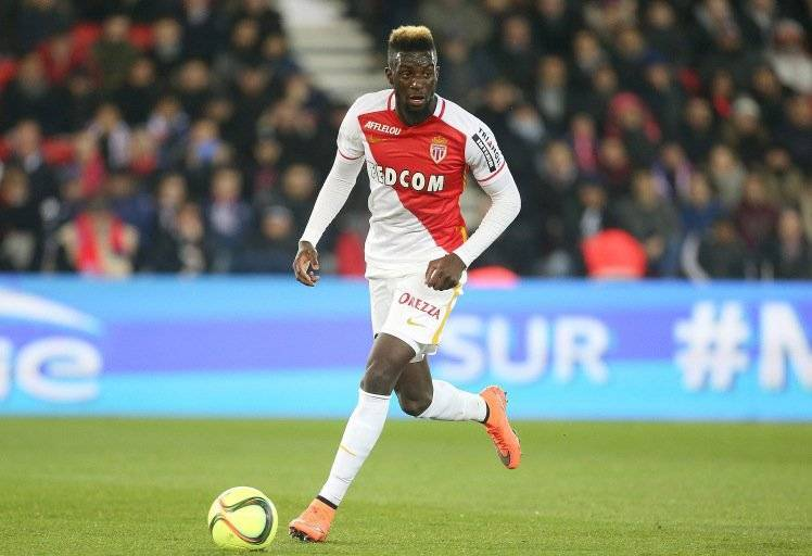 PARIS, FRANCE - MARCH 20: Tiemoue Bakayoko of Monaco in action during the French Ligue 1 match between Paris Saint-Germain v AS Monaco at Parc des Princes on March 20, 2016 in Paris, France.  (Photo by Jean Catuffe/Getty Images)