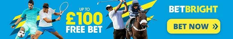 Claim £100 Free bet with Betbright