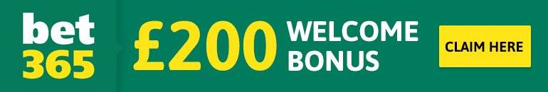 Bet365 Up to £200 Bonus