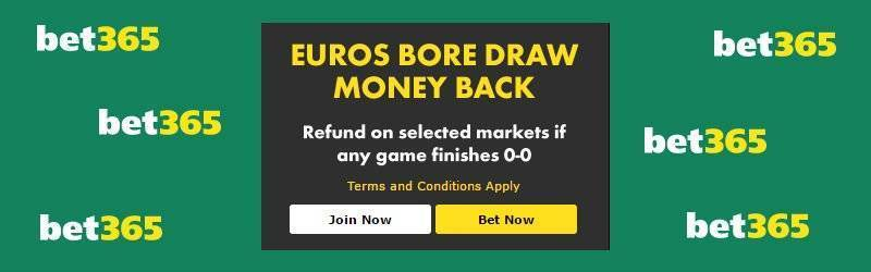 Bet365 Euro Bore Draw Offer