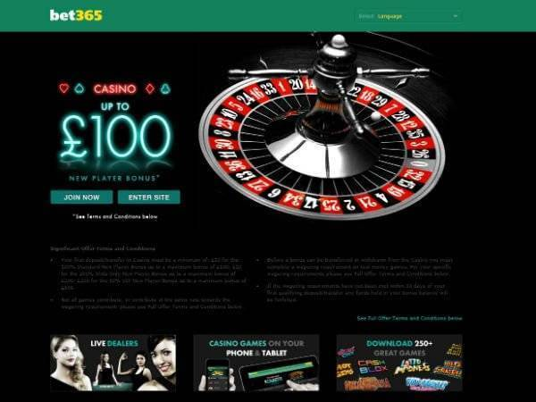 Bet365 Casino Offer