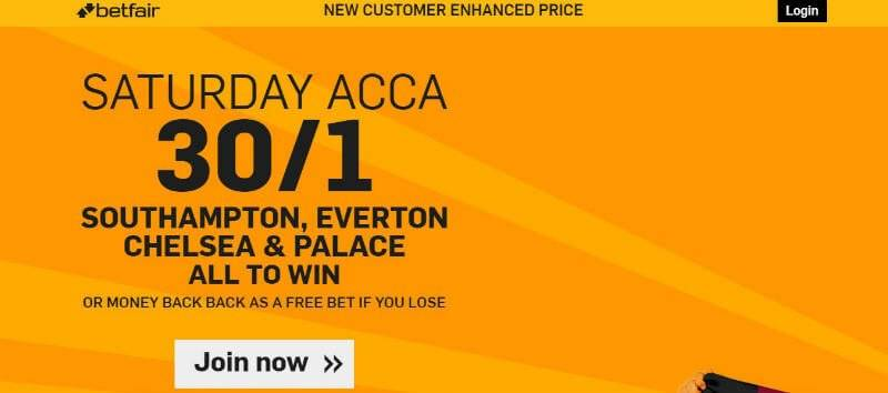 Enhanced Odds Offer from Betfair