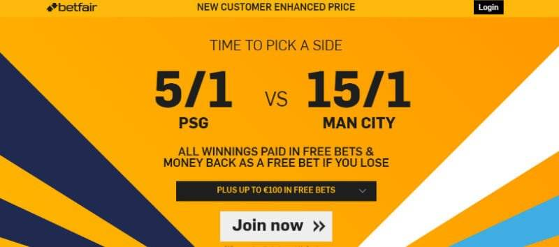 Champions League Betting Offer