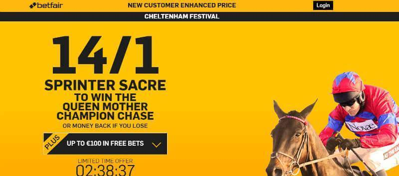 Enhanced Odds Champions Chase Betfair