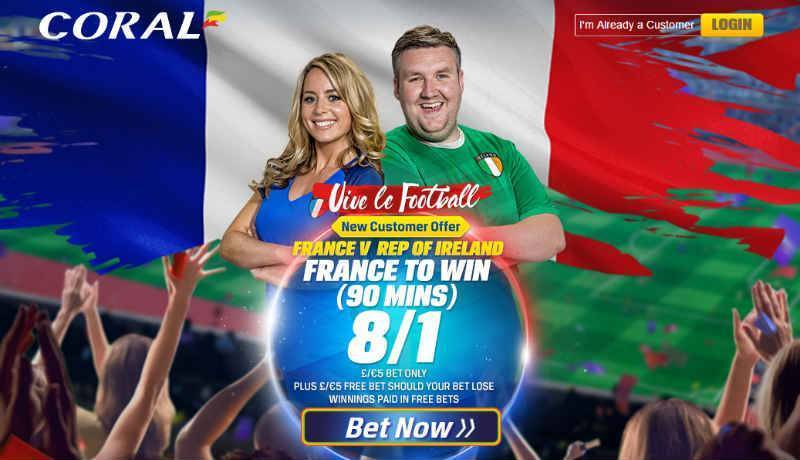 Round of 16 Coral Enhanced Odds Offer