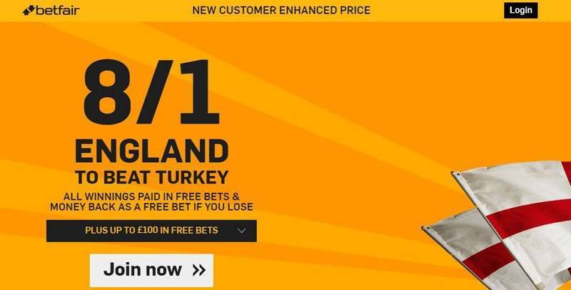 Enhance Odds Offer International Friendly