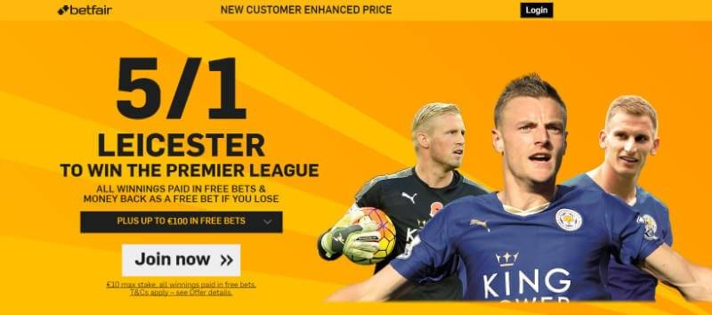 Betfair Premier League Enhanced Odds