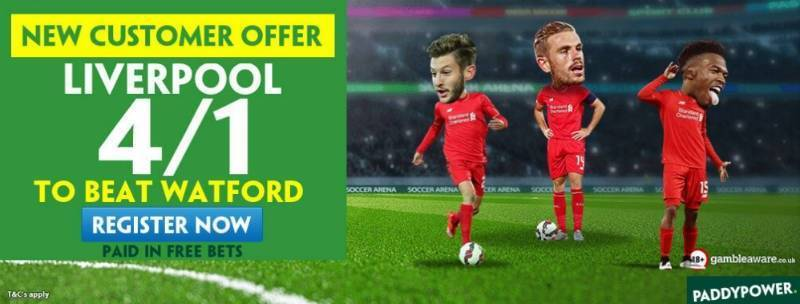 4/1 Liverpool to Win