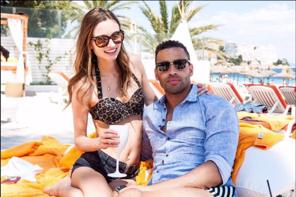 Haley Bartlett and Hal Robson-Kanu