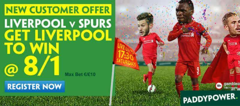 Premier League Enhanced Price Offer Paddy Power