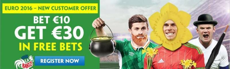 Paddy Power £30 Euro 2016 Free Bet