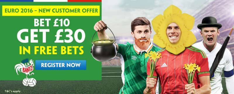 Claim £30 Free Bet with Paddy Power