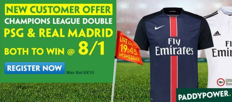 Paddy Power Enhanced Offer