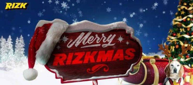 Get Free Spins this Christmas at Rizk Casino